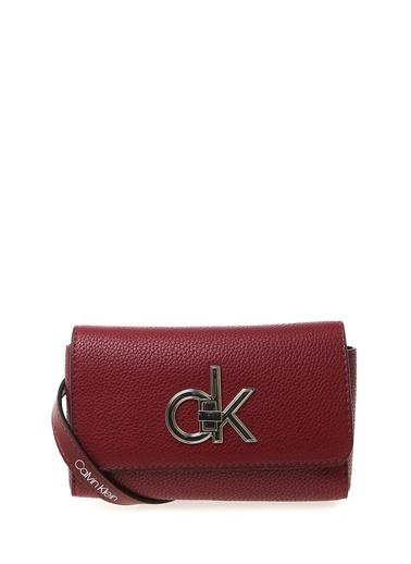 Calvin Klein Bel Çantası Bordo